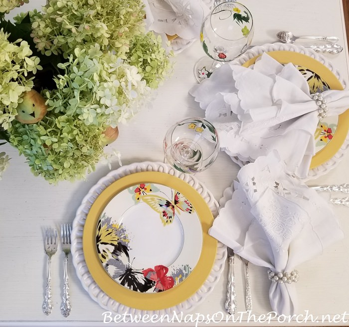 Mikasa Modern Butterfly Salad Plate