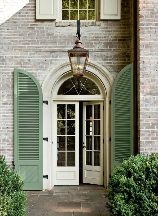 Paint Shutter Green with Pratt & Lambert's Artichoke paint