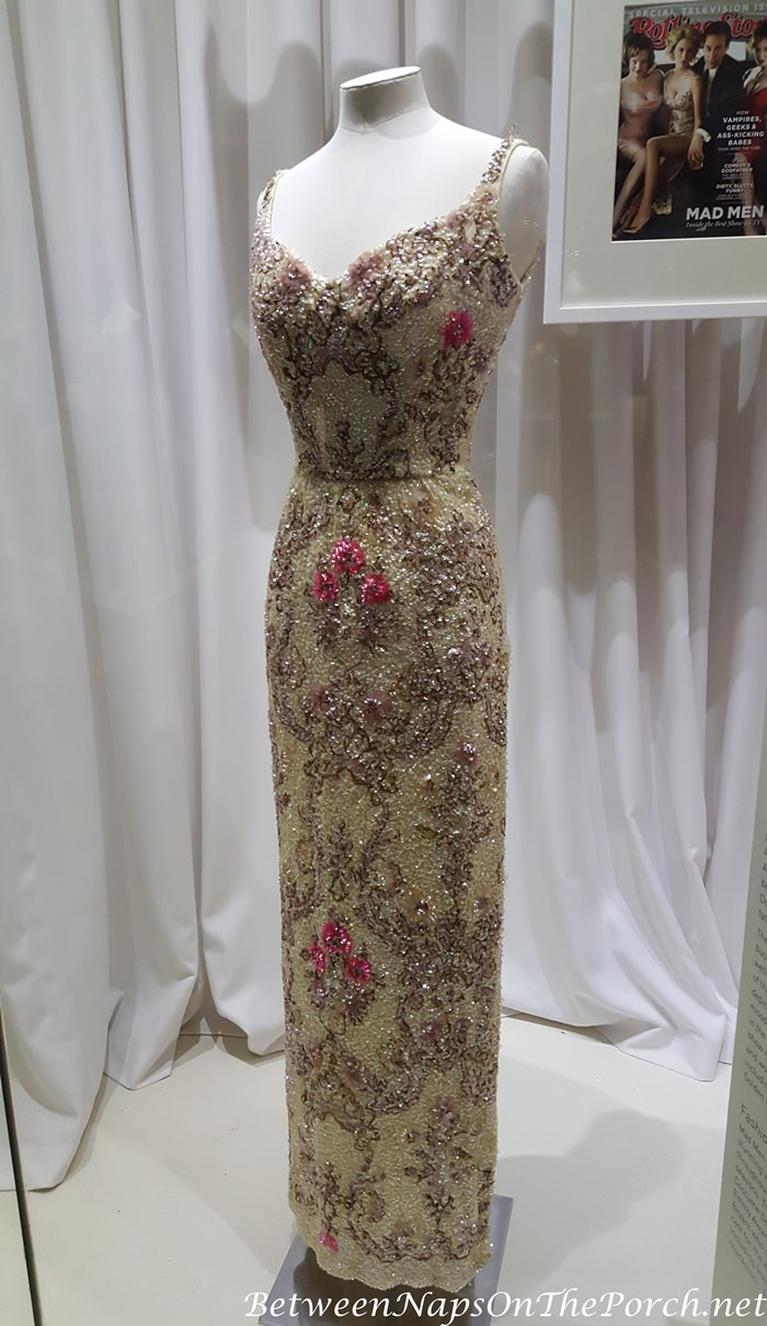 Sequined Gown Worn by Betty Draper (Joan Harris) in Mad Men TV Series