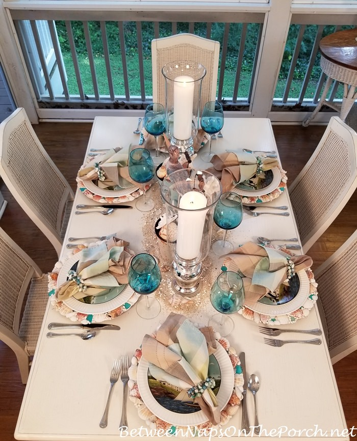 Set a Summer Table with a Nautical-Beach Theme