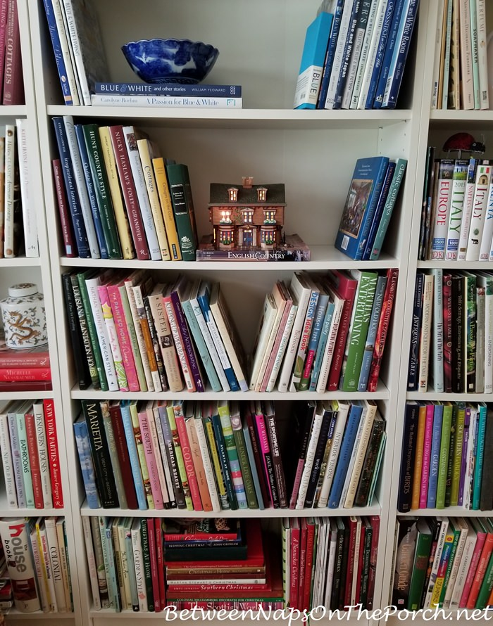 Add Dept. 56 Literary Classics Houses to Bookcase