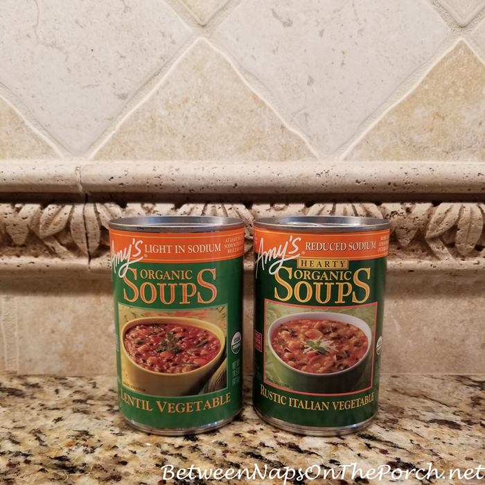 Amy's Organic Soups, My Faves