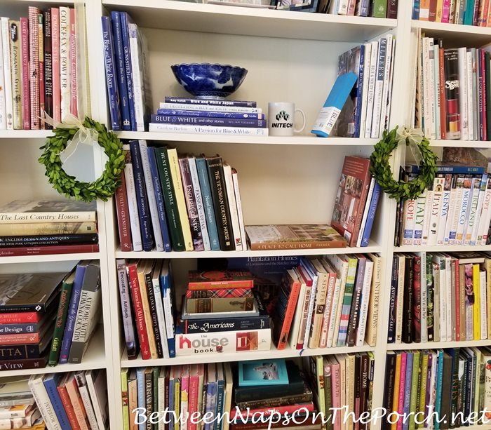 Bookcase Lighting Idea for Home Office
