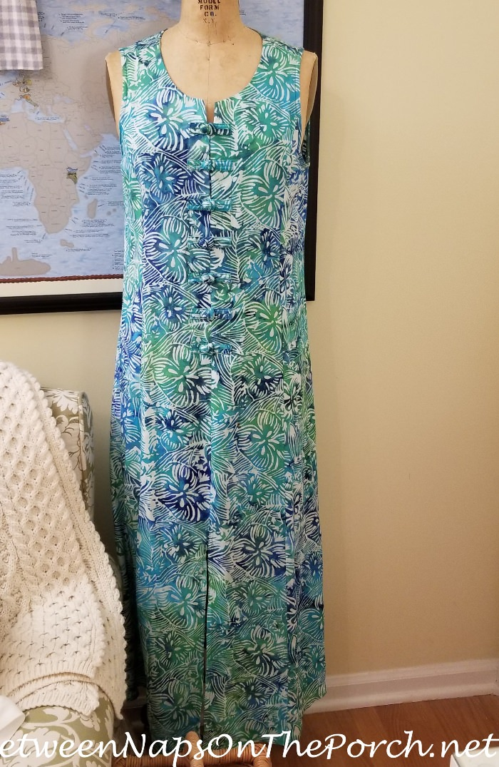 Cotton Maxi Dress, Travel to Egypt