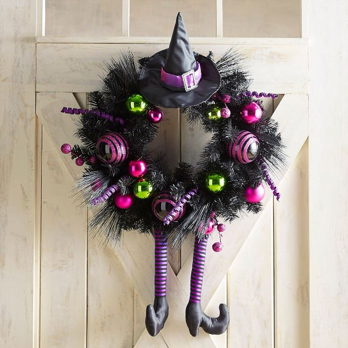 Creative Halloween Wreath