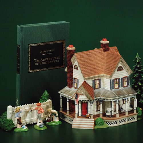 Dept 56, Aunt Polly's House