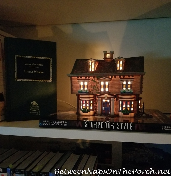 Dept. 56 Literary Classic, March Residence from Little Women