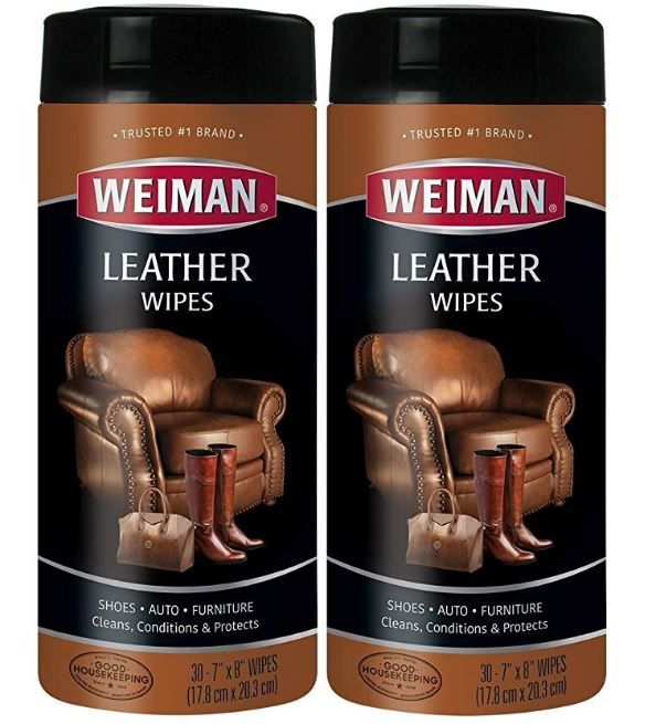 Leather Cleaner Wipes