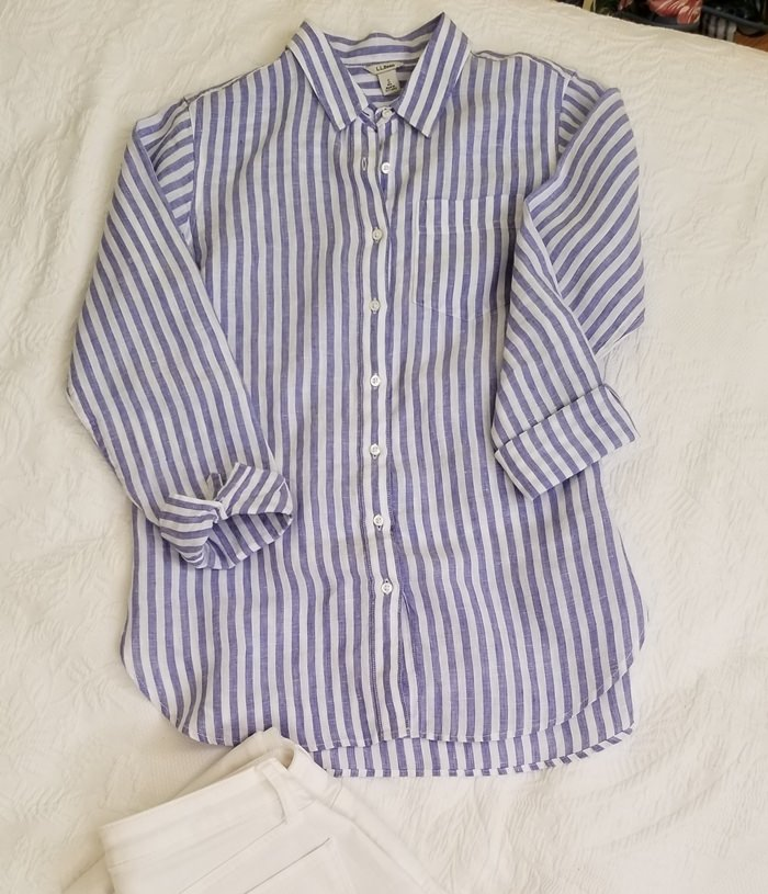 Linen Shirt for Traveling to Egypt