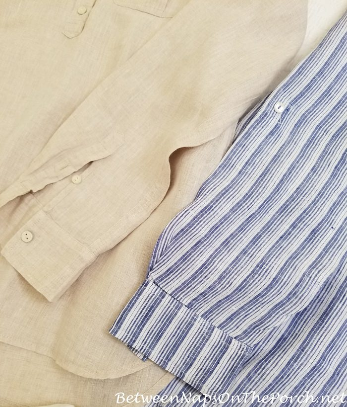 Linen Shirts Cool for Travel to Egypt