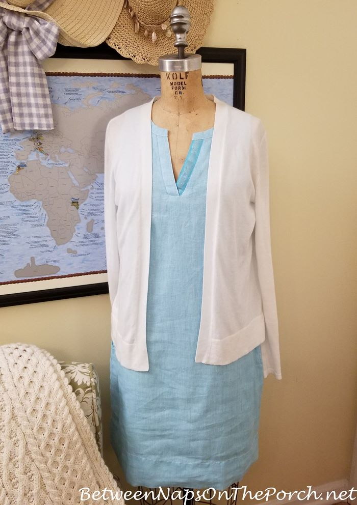 Linen and Cotton Clothes, Great for Travel to Hot Locales