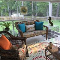 Screened Porch Decor