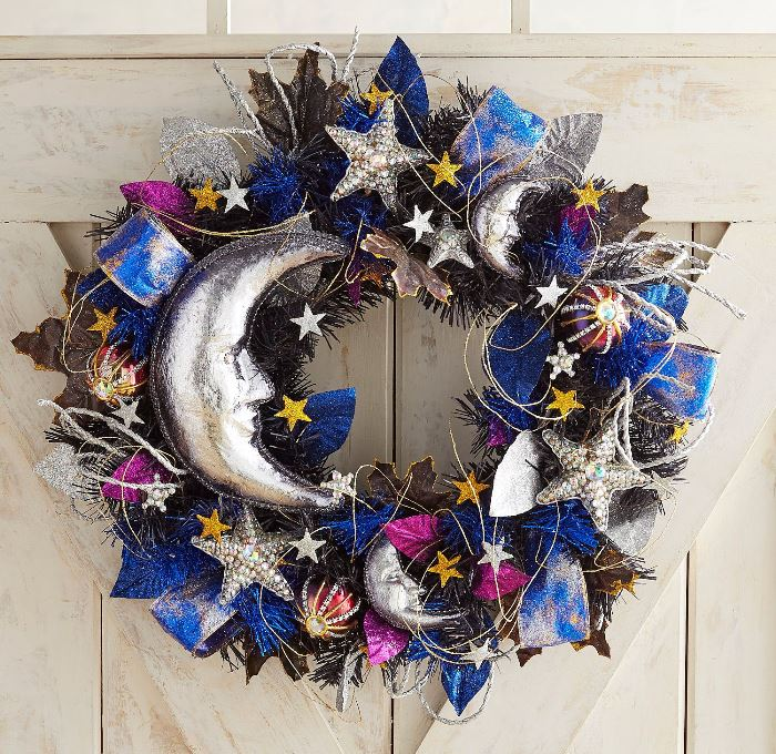 Stars and Moon Wreath