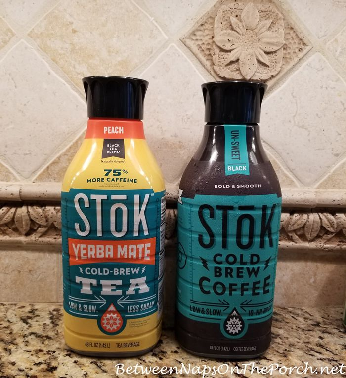 Stok Coffee & Peach Tea