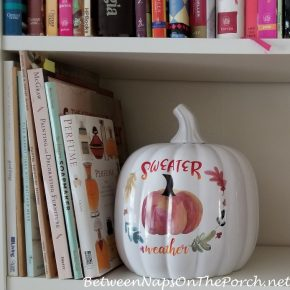 Sweater Weather Pumpkin for Fall