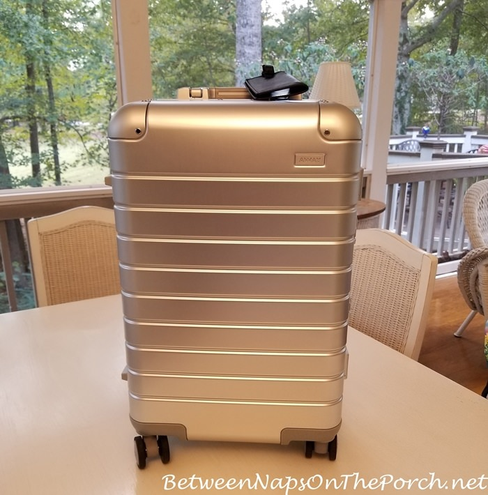Aluminum Away Bigger Carry-On Bag
