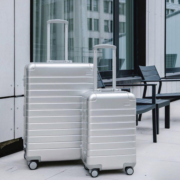 Away Aluminum Luggage, Hi Tech and Elegant