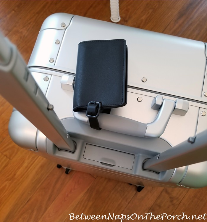 Away Bag, Built in Battery Compartment