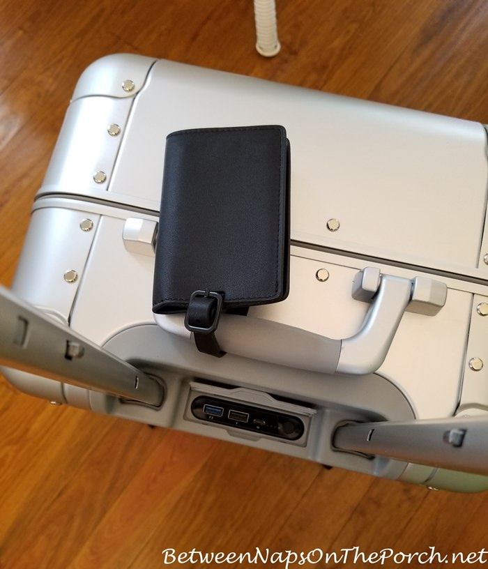 Away Bag with Built-in Battery