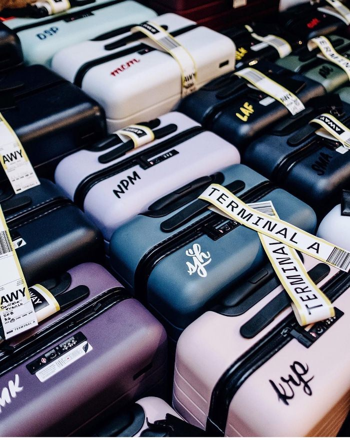 Away Luggage Bags Come in Many Colors