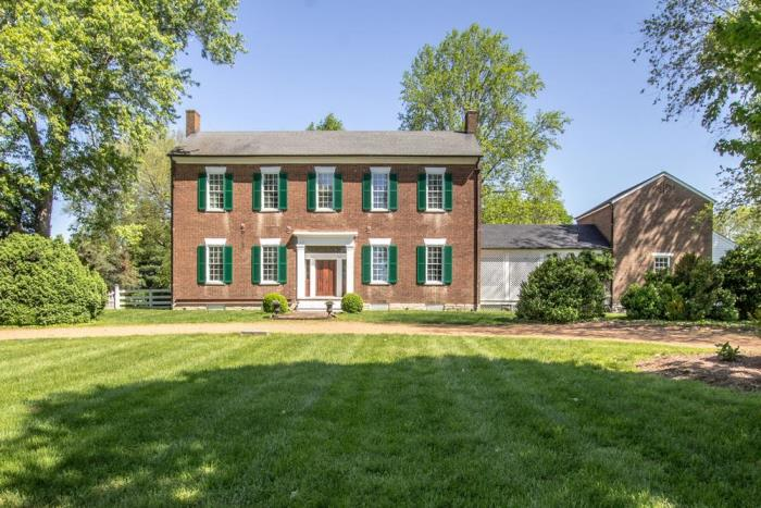 Beautiful 1803 Brick Federal Home For Sale in Tennessee