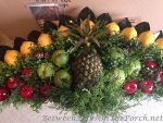 As Requested: Instructions & Resources to Make a Beautiful Colonial Williamsburg Fruit Fan for Christmas