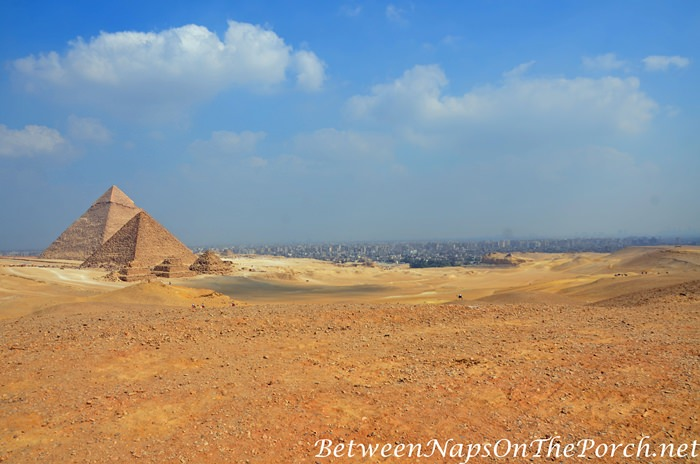 Giza Plateau looking toward Cairo
