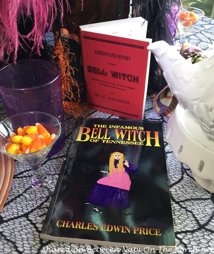 Halloween Table Setting, Bell Witch of Tennessee