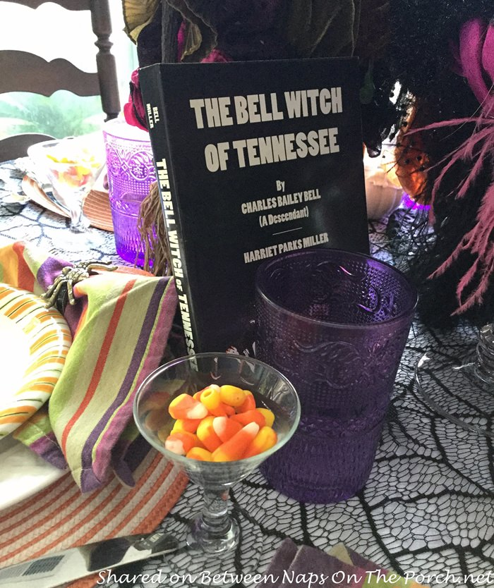 Halloween Table with Bell Witch Theme