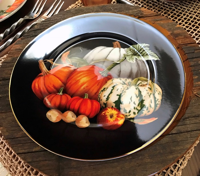 Harvest Pumpkin Dinnerware on sale