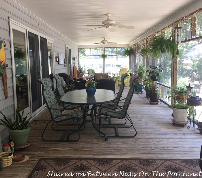 Screened Porches for Year Around Enjoyment