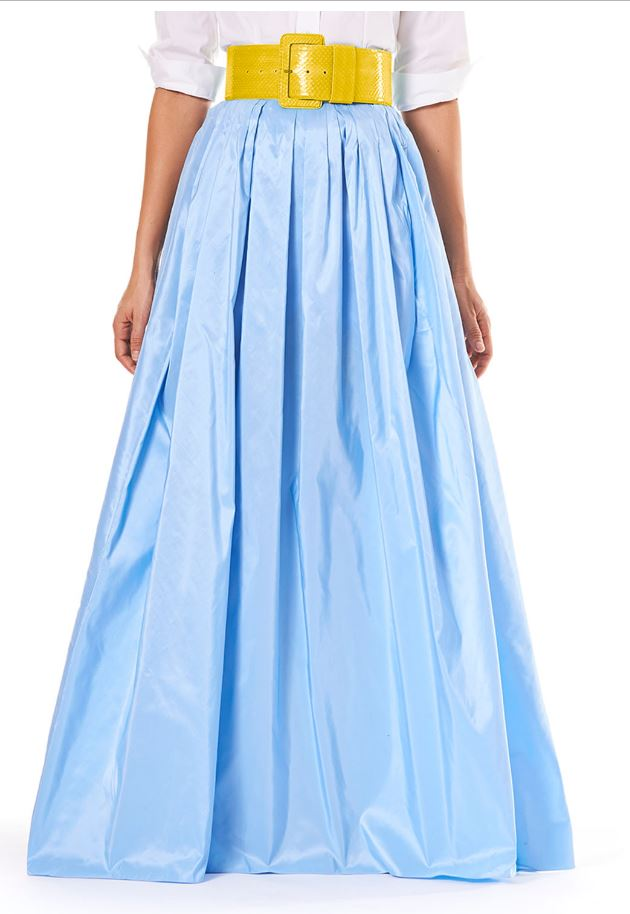Silk Ball Skirt by Carolina Herrera
