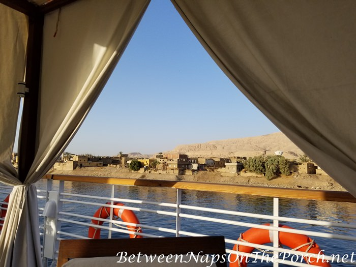 View from Sun Deck, Sailing the Nile River