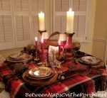 Dining in a Country Lodge, An Autumn Inspired Table Setting