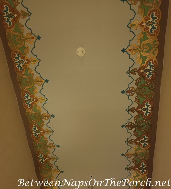 Ceiling, Old Cataract Hotel, Moorish Decor