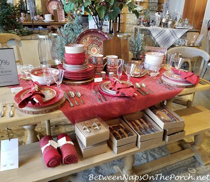 Christmas China Dinnerware