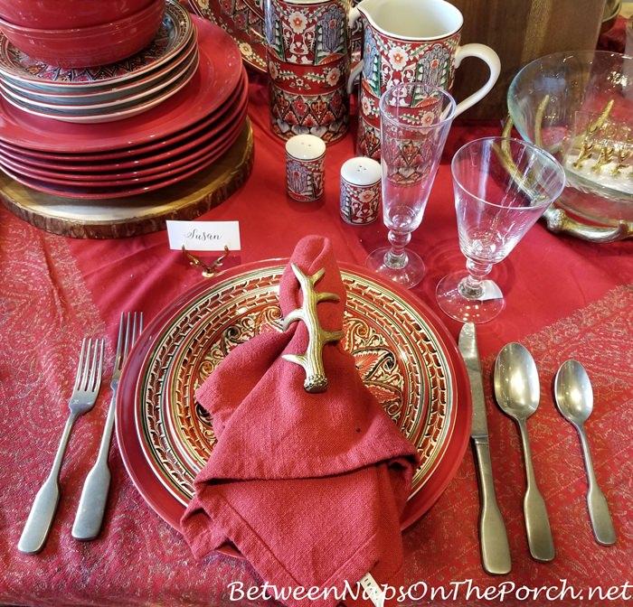 Christmas China Dinnerware 2