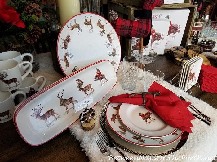 Christmas China Dinnerware 5