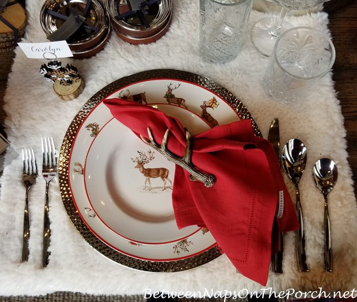 Christmas China Dinnerware 6