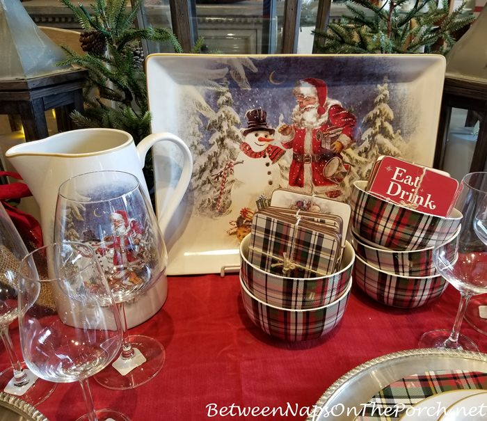 Christmas China Dinnerware 7