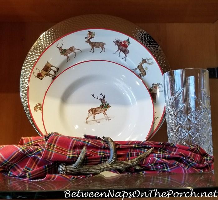 Christmas China Dinnerware 8