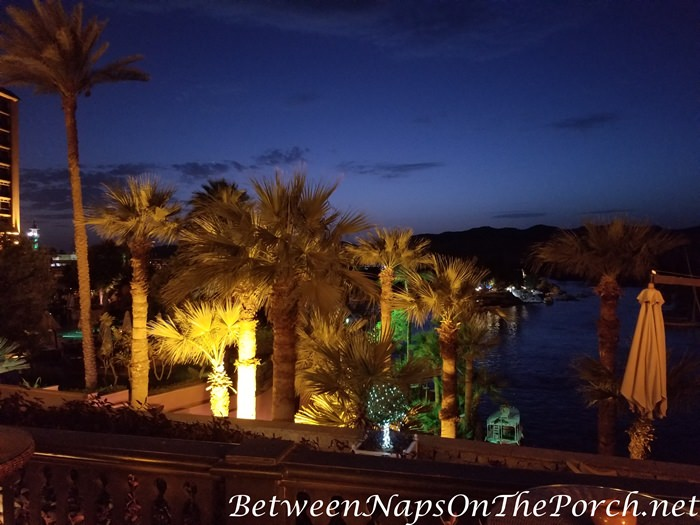 Evening view, Old Cataract Hotel, Aswan Egypt