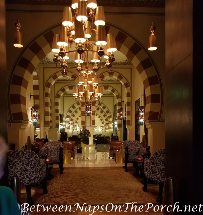 Iconic Legend Old Cataract Hotel, Moorish Architecture & Decor