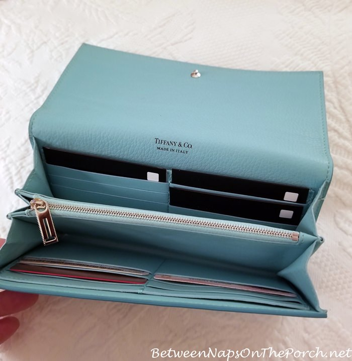 RFID Protecter Sleeves for Credit Cards, Tiffany & Co. Wallet