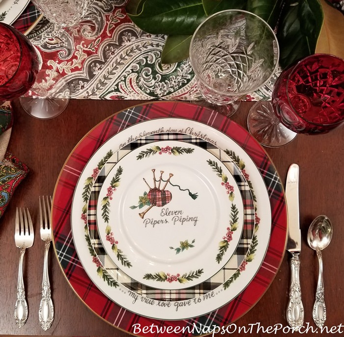 11 Pipers Piping, 12 Days of Christmas China, Valerie Parr Hill