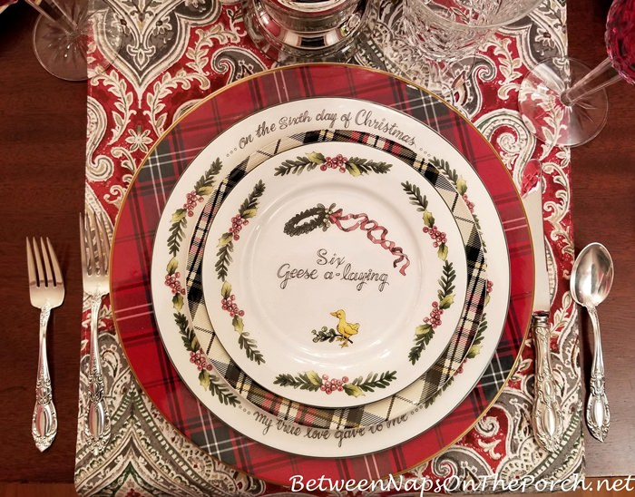 6 Geese a-laying, 12 Days of Christmas China, Valerie Parr Hill