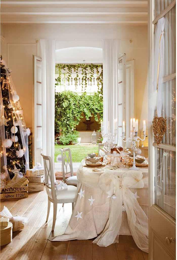 All White & Cream Dinner Party