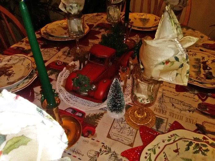 Christmas Table Settings, Christmas, Christmas Dining