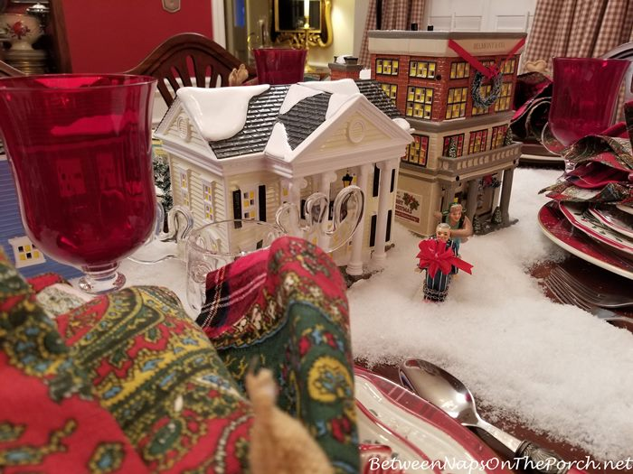 Christmas Vacation Movie Tablescape