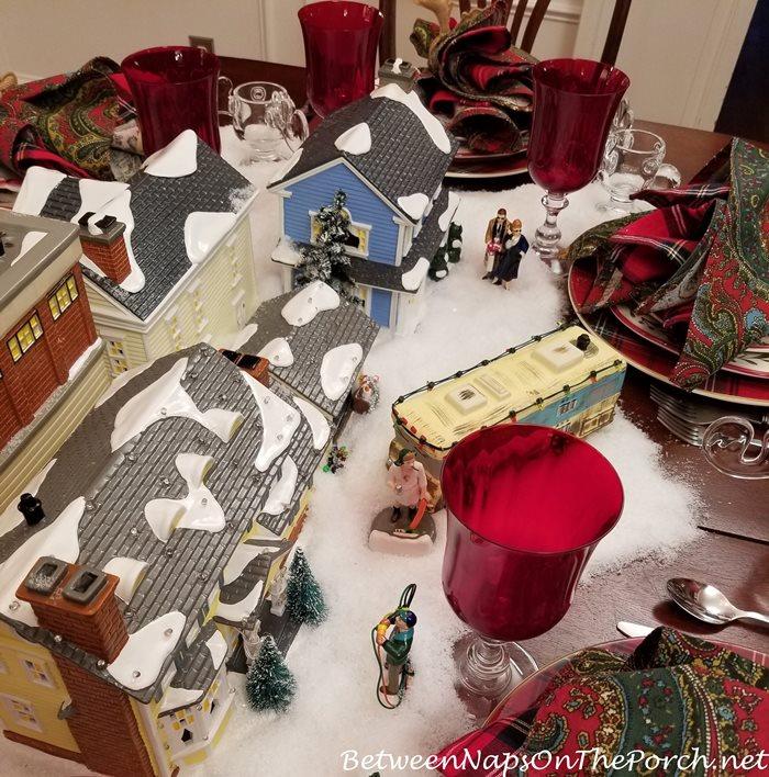 Christmas Vacation Table Setting